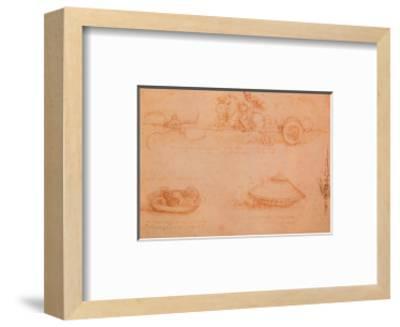 War Machine-Leonardo da Vinci-Framed Art Print