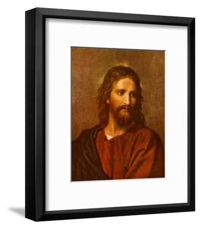 Christ at Thirty-Three-Heinrich Hofmann-Framed Art Print