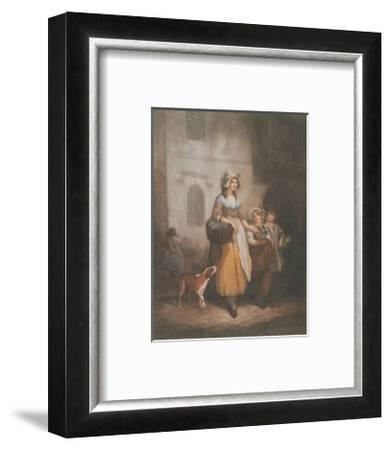 Cries of London, Plate No. 1-Francis Wheatley-Framed Art Print