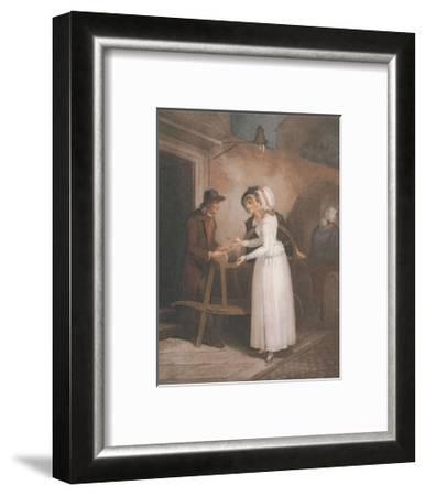 Cries of London, Plate No. 6-Francis Wheatley-Framed Art Print