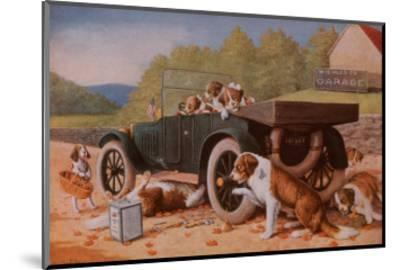 Ten Miles to a Garage-Cassius Marcellus Coolidge-Mounted Art Print