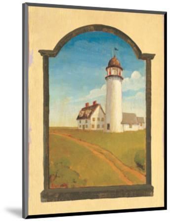 Lighthouse-Robert LaDuke-Mounted Art Print