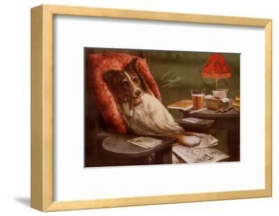 Bachelor's Dog-Cassius Marcellus Coolidge-Framed Art Print