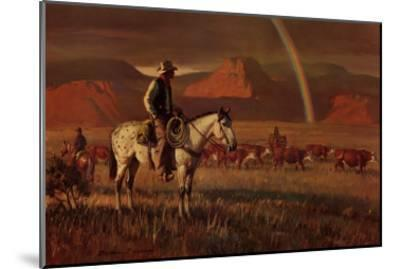 Fringe Benefit-Duane Bryers-Mounted Art Print
