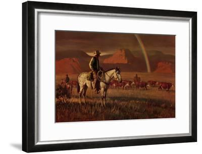 Fringe Benefit-Duane Bryers-Framed Art Print