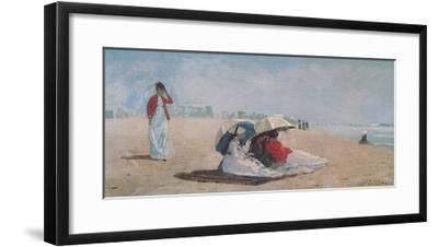 East Hampton, Long Island, 1874-Winslow Homer-Framed Art Print
