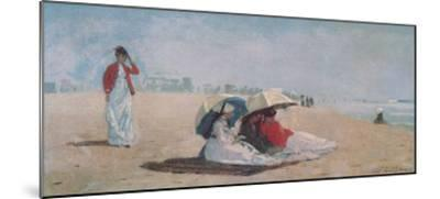 East Hampton, Long Island, 1874-Winslow Homer-Mounted Art Print