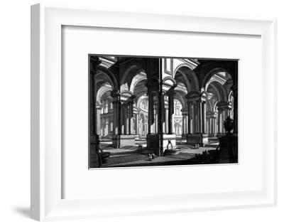 Rotonda-Giovanni Battista Piranesi-Framed Art Print