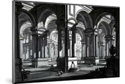 Rotonda-Giovanni Battista Piranesi-Mounted Art Print