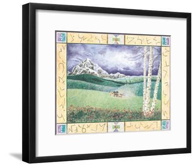 Language of the Land-Christina Barnes-Framed Art Print