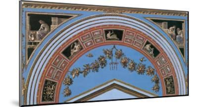 Loggia in the Vatican IV (detail)-Raphael-Mounted Art Print