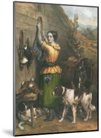 Gamekeeper's Daughter-Frankin Taylor-Mounted Art Print