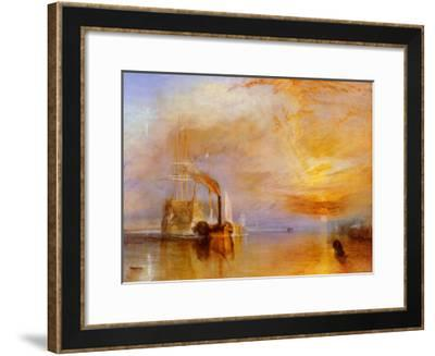 The Fighting Temeraire-J^ M^ W^ Turner-Framed Art Print