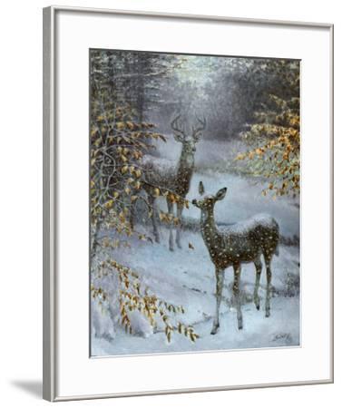 Early Snow-Edward J^ Bierly-Framed Art Print
