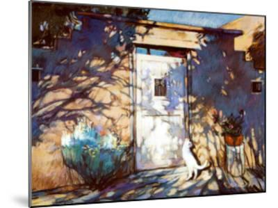 Santa Fe Shadows-Gary Blackwell-Mounted Art Print