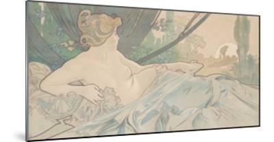 Dawn-Alphonse Mucha-Mounted Art Print