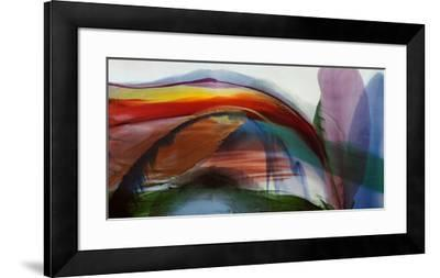 Phenomena Waves Without Wind, 1977-Paul Jenkins-Framed Art Print