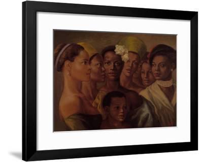 Beauty of Color-Tim Ashkar-Framed Art Print