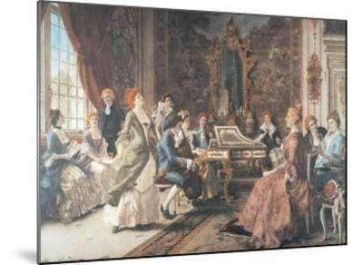 An Afternoon Concert-Arturo Ricci-Mounted Art Print