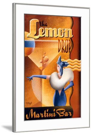 The Lemon Drop Martini Bar-Michael L^ Kungl-Framed Art Print