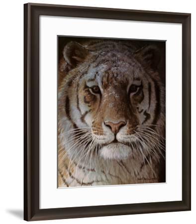 Tiger Portrait-Robert Bateman-Framed Art Print