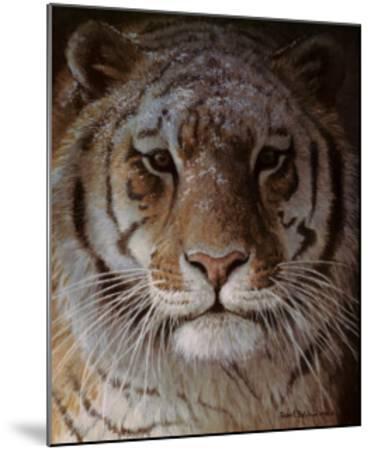 Tiger Portrait-Robert Bateman-Mounted Art Print