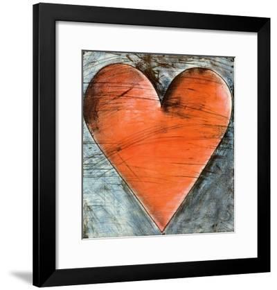 The Philadelphia Heart-Jim Dine-Framed Art Print