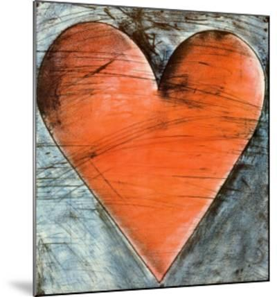 The Philadelphia Heart-Jim Dine-Mounted Art Print