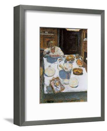 The Table, 1925-Pierre Bonnard-Framed Art Print