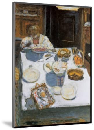 The Table, 1925-Pierre Bonnard-Mounted Art Print