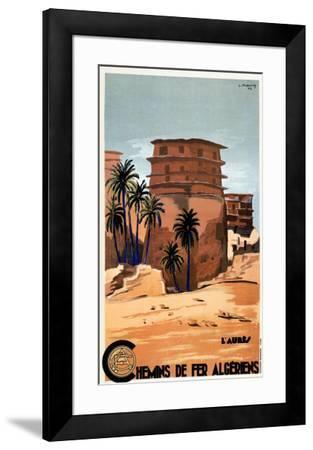 Chemins de Fer Algeriens-L^ Koenig-Framed Art Print