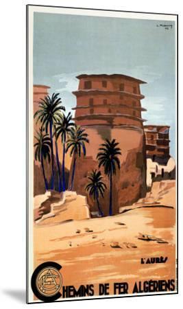 Chemins de Fer Algeriens-L^ Koenig-Mounted Art Print
