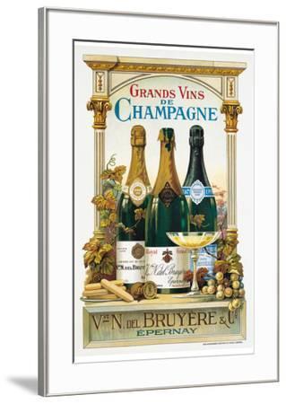 De Champagne-Arnold Eyckermans-Framed Art Print