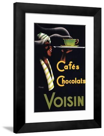 Cafes Chocolats-Noel Saunier-Framed Art Print