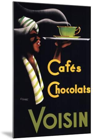 Cafes Chocolats-Noel Saunier-Mounted Art Print