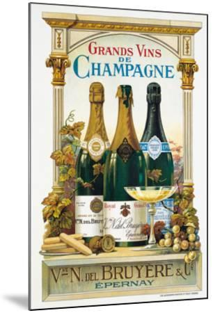 De Champagne-Arnold Eyckermans-Mounted Art Print