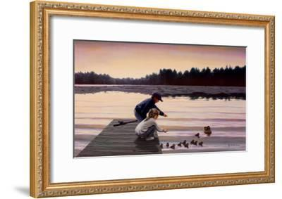 Sharing a Moment-Mary G^ Smith-Framed Art Print