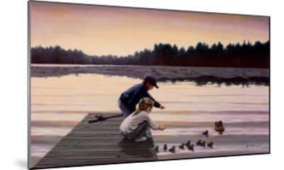 Sharing a Moment-Mary G^ Smith-Mounted Art Print