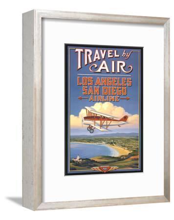 Travel by Air-Kerne Erickson-Framed Art Print