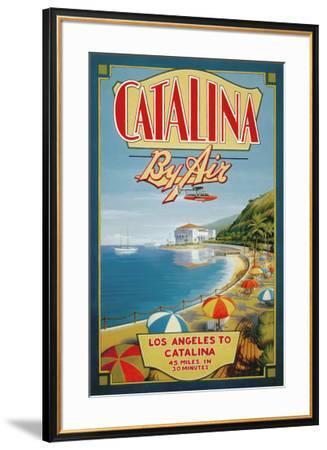Catalina by Air-Kerne Erickson-Framed Art Print
