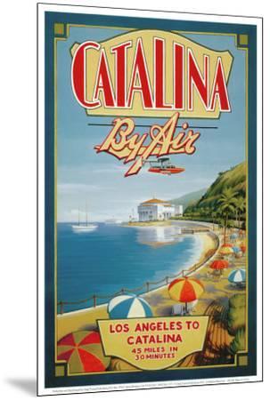 Catalina by Air-Kerne Erickson-Mounted Art Print