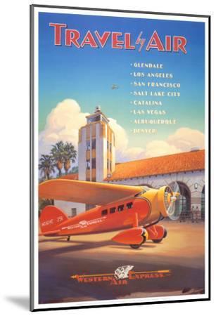 Western Air Express-Kerne Erickson-Mounted Art Print