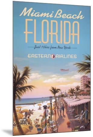 Miami Beach-Kerne Erickson-Mounted Art Print