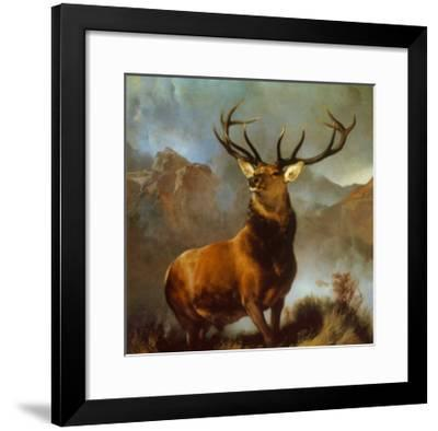 Monarch of the Glen-Edwin Henry Landseer-Framed Art Print