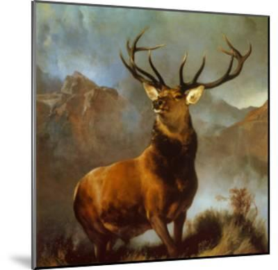 Monarch of the Glen-Edwin Henry Landseer-Mounted Art Print
