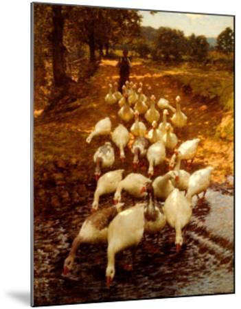 The Watersplash, c. 1899-Henry Herbert La Thangue-Mounted Art Print