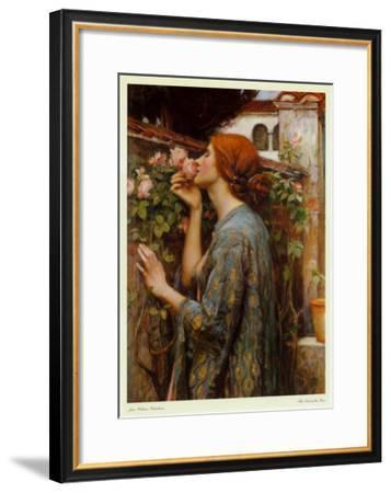 The Soul of the Rose, 1908-John William Waterhouse-Framed Art Print