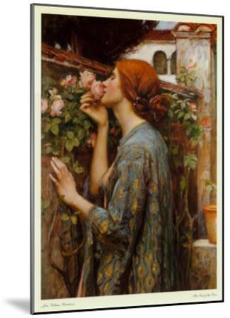 The Soul of the Rose, 1908-John William Waterhouse-Mounted Art Print