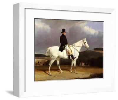 Hunting Scene in the Counties-Abraham Cooper-Framed Art Print