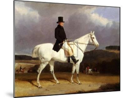 Hunting Scene in the Counties-Abraham Cooper-Mounted Art Print